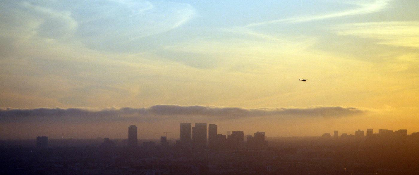 Общий вид Лос-Анджелеса