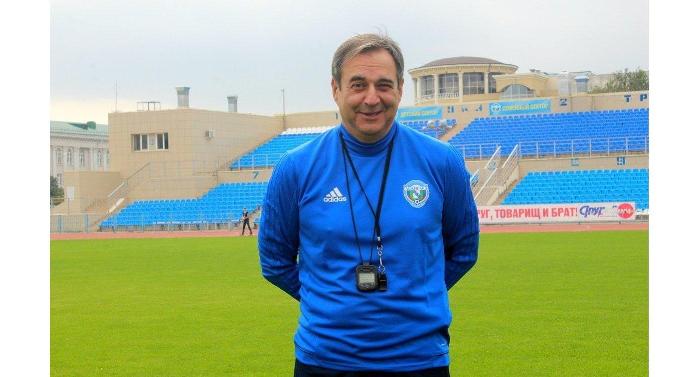 Хасанби Биджиев стал главным тренером команды ФНЛ «Авангард» (Курск)