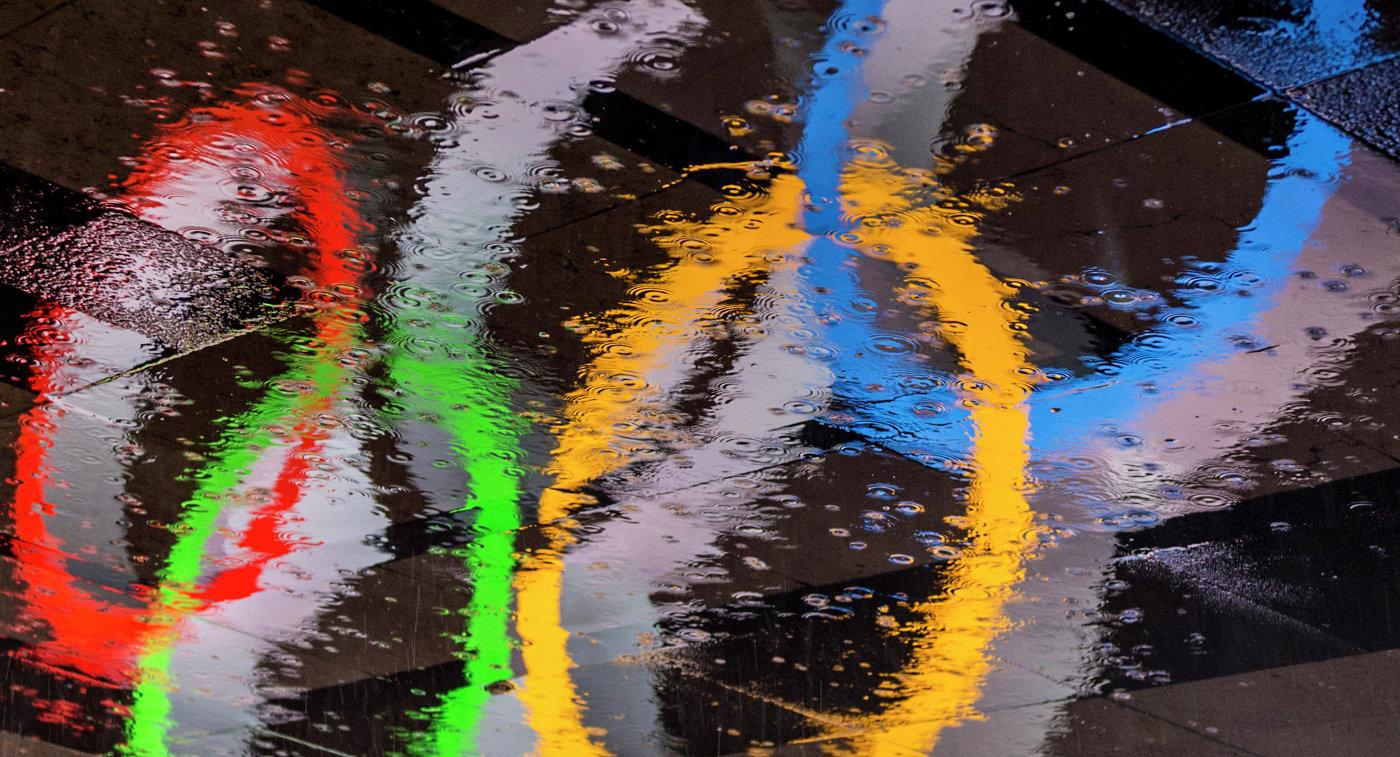 Олимпийские Кольца в Париже
