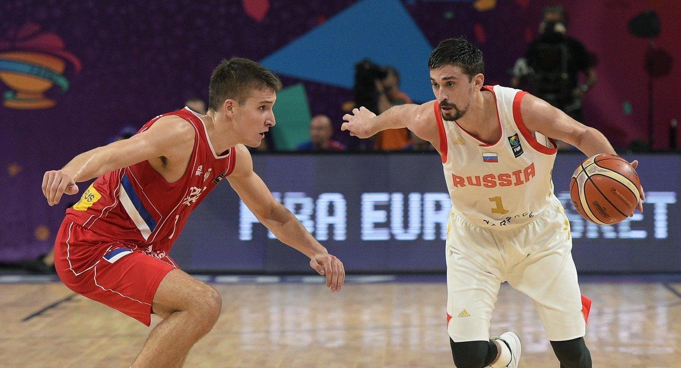 Жители России  показали превосходный  баскетбол ссербами, особенно во 2-ой  половине игры— Швед