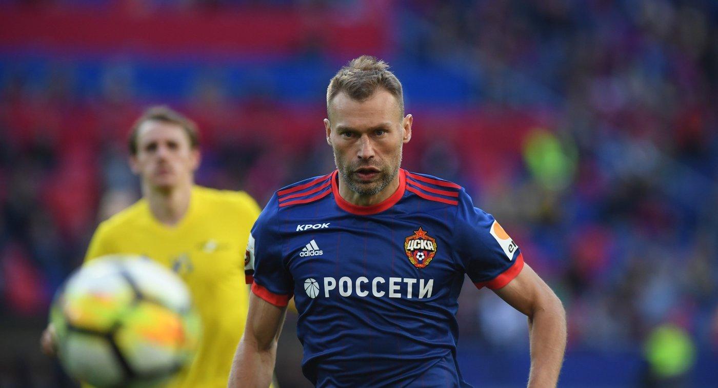 Василий Березуцкий иАлан Дзагоев пропустят матч 13-го тура РФПЛ с«Краснодаром»