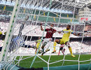 Игровой момент матча чемпионата Италии по футболу между Миланом и Удинезе