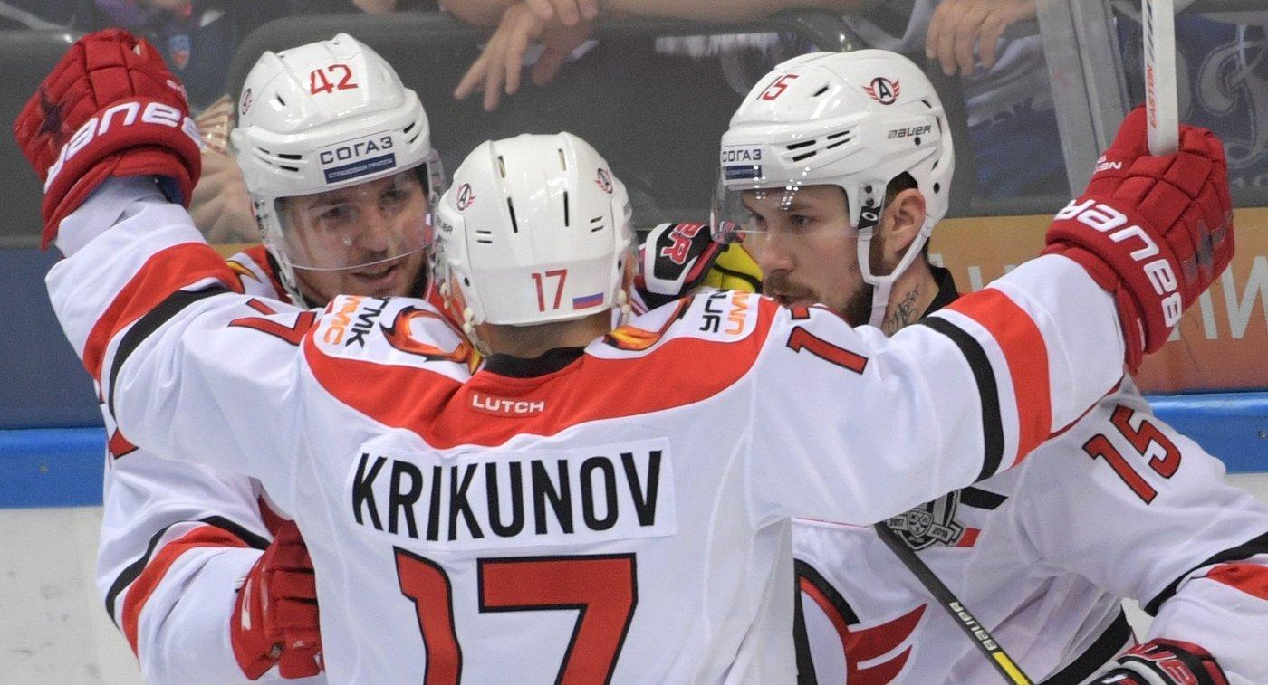 «Автомобилист» разгромил одного излидеров КХЛ