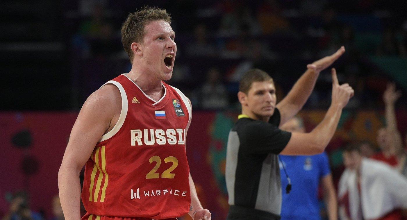 Баскетболисты сборной России обыграли команду Финляндии в матче отбора Кубка мира