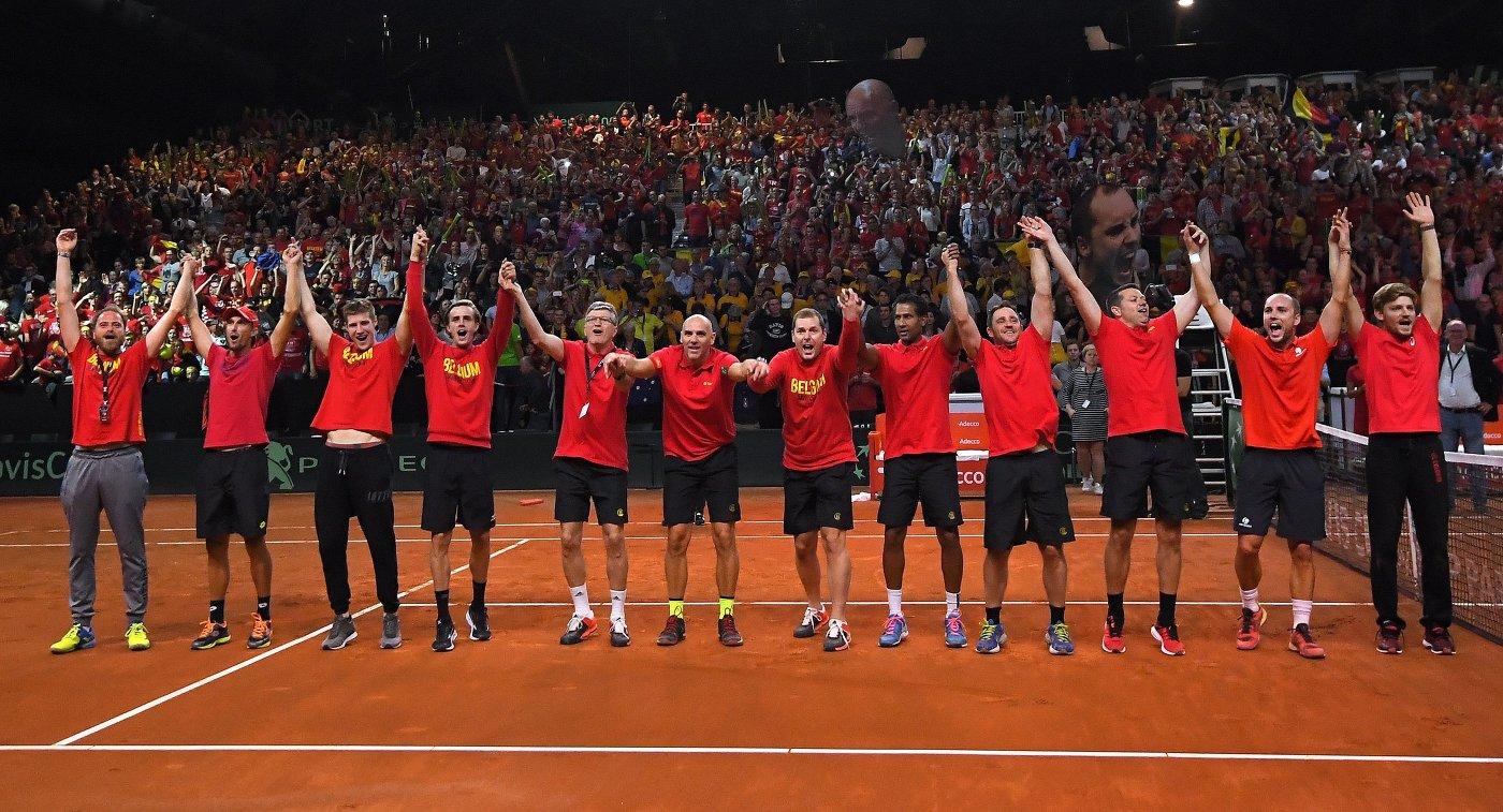 Бельгийские теннисисты сыграют сфранцузами вфинале Кубка Дэвиса