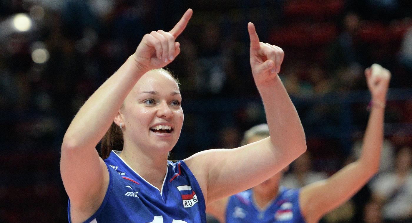 Женская сборная Беларуссии стартует начемпионате Европы поволейболу