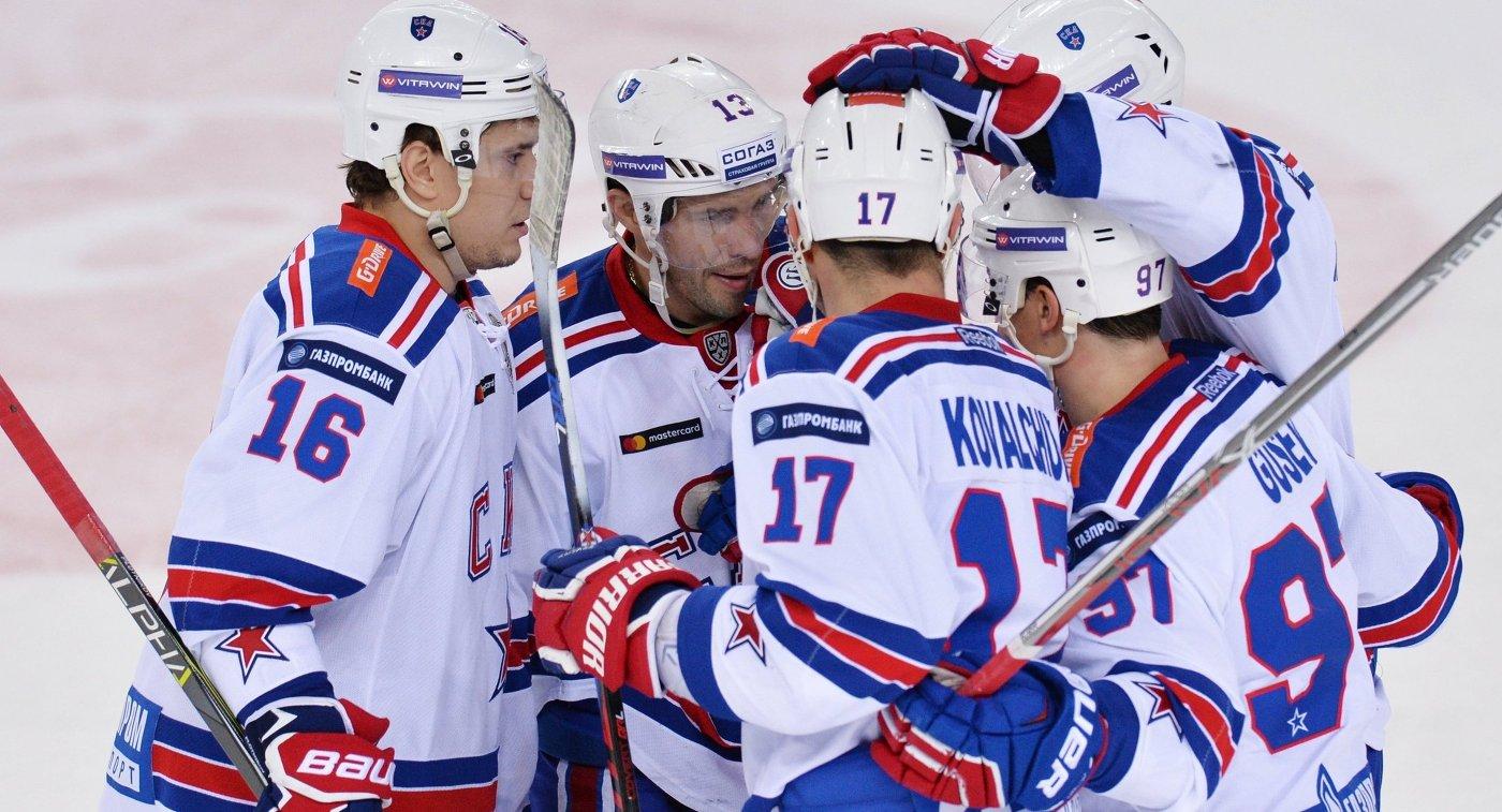СКА повторил рекорд КХЛ почислу побед подряд