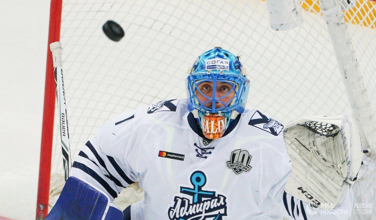 «Спартак» одержал волевую победу над «Адмиралом» вматче чемпионата КХЛ