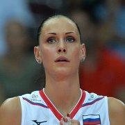 Диагональная сборной России Наталия Гончарова