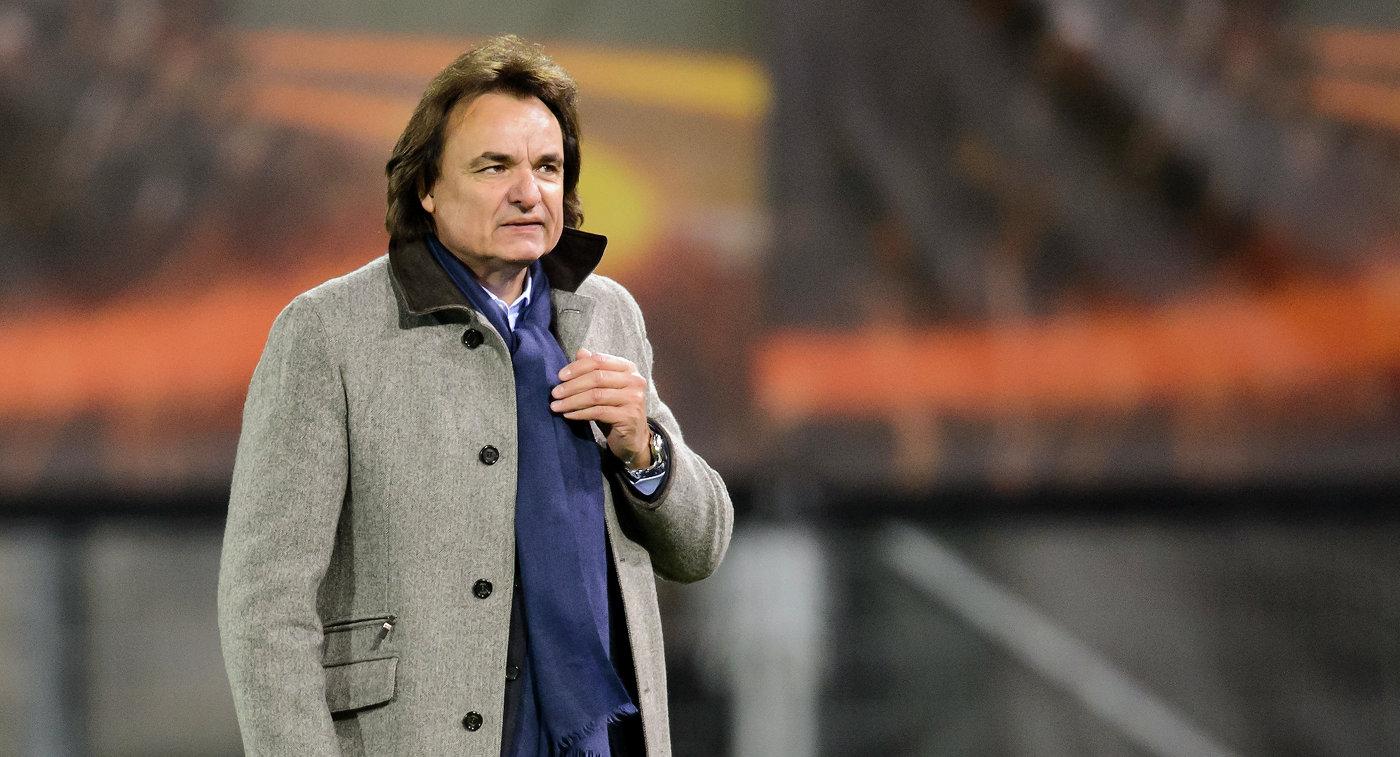 Владелец и президент швейцарского футбольного клуба Сьон Кристиан Константен