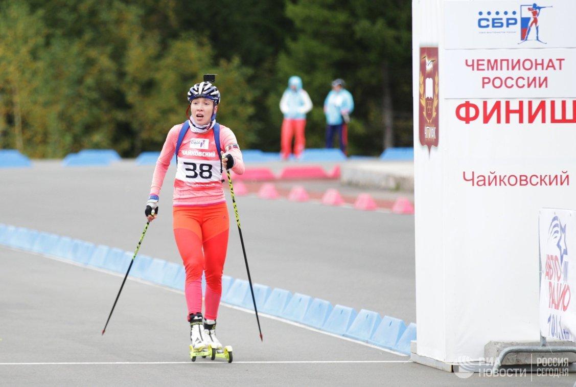 Псковский биатлонист стал только 17-м вспринте начемпионате РФ