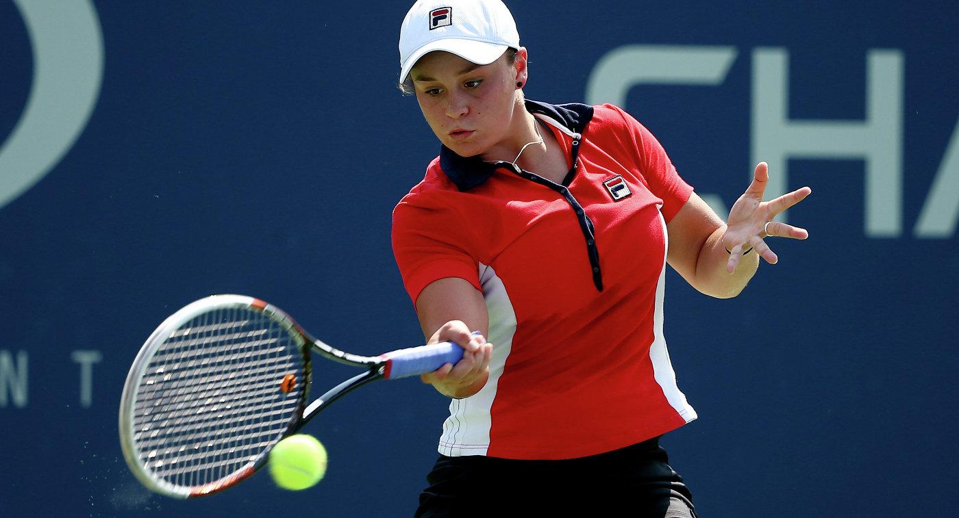 Эшли Барти стала первой финалисткой WTA Elite Trophy
