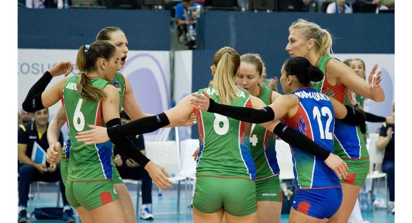 Русские волейболистки стартовали наЧЕ-2017 спобеды над украинками