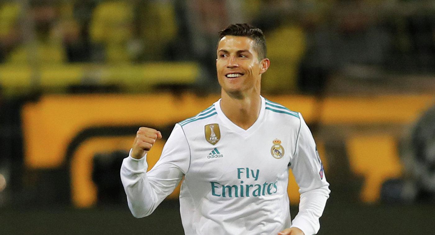 Роналду поспорил сигроками «Реала», что будет лучшим бомбардиром Примеры