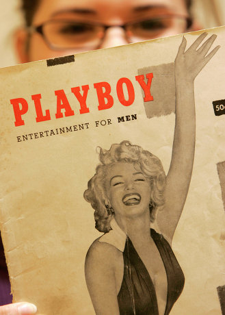 """Первый номер мужского журнала """"Playboy"""""""