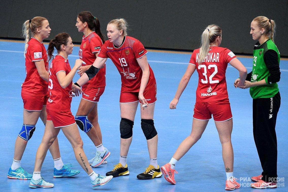 Русские гандболистки проиграли сборной Австрии вматче квалификацииЧЕ