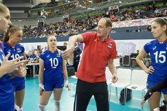 Главный тренер женской сборной России по волейболу Константин Ушаков