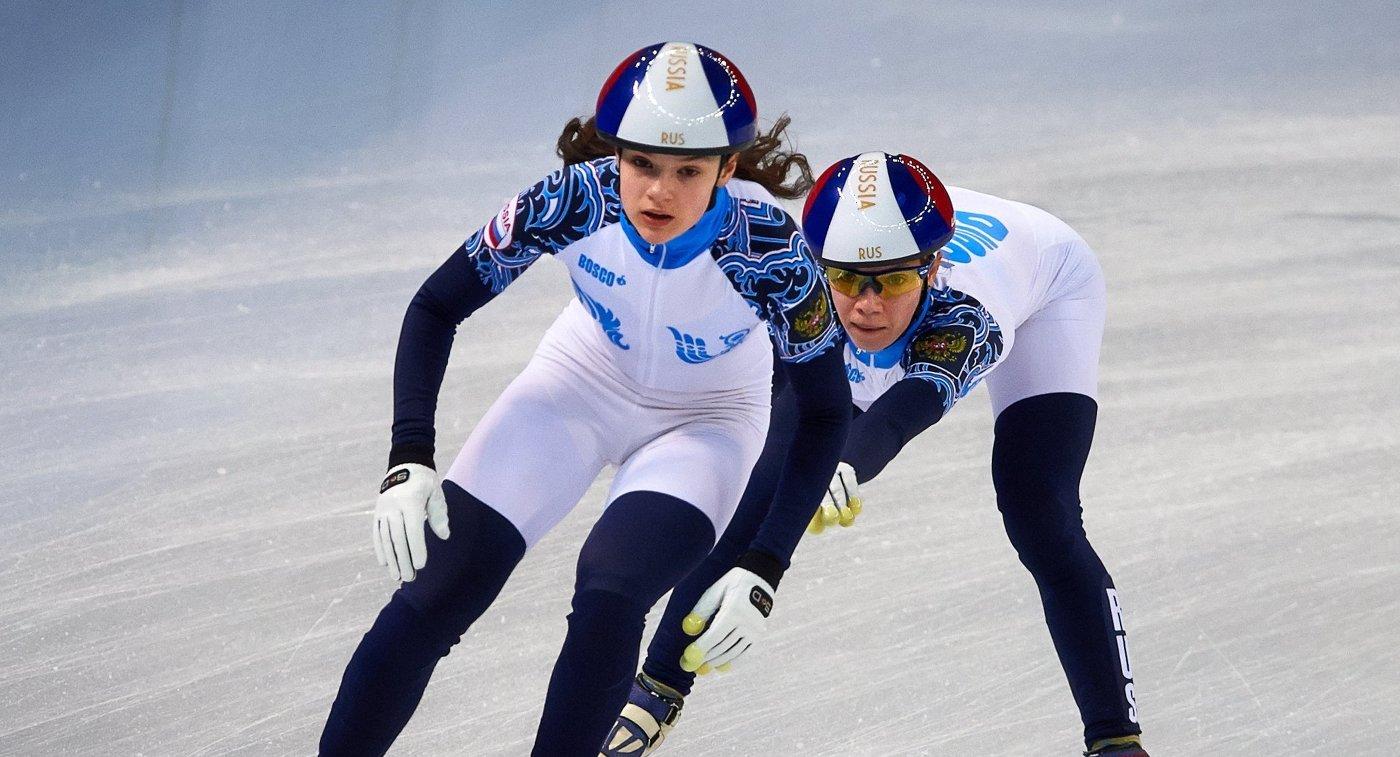 Россиянки выиграли бронзу наКМ пошорт-треку