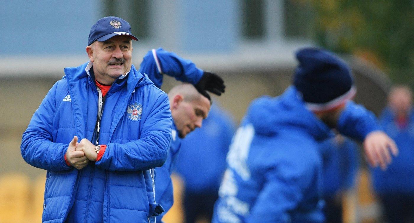 Все игроки, кроме Головина, тренируются всоставе сборной РФ