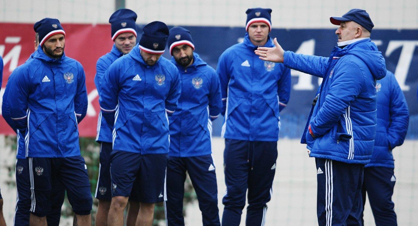 Сборная РФ может сыграть кконцу осени против сборной Испании