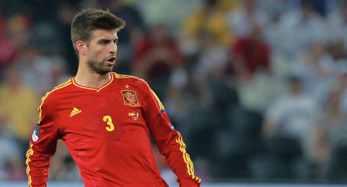 Фанаты сборной Испании освистали барселонца Пике