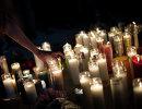 Свечи в память погибшим после стрельбы в Лас-Вегасе