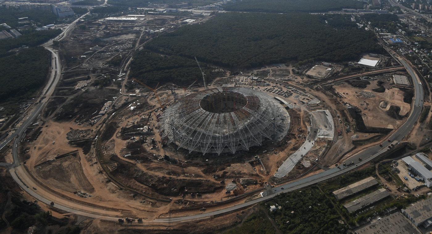 строительства чемпионату к 2018 мира стадионов этапы