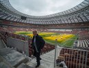 Инспекционный визит делегации ФИФА и оргкомитета Россия-2018 на стадион Лужники