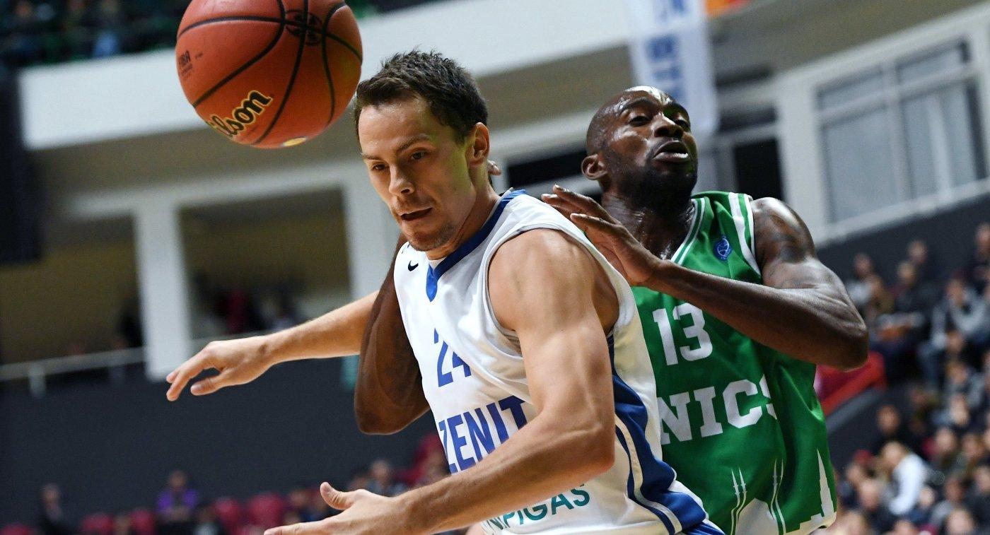 «Зенит» проиграл «Вийербану» вматче баскетбольного Еврокубка