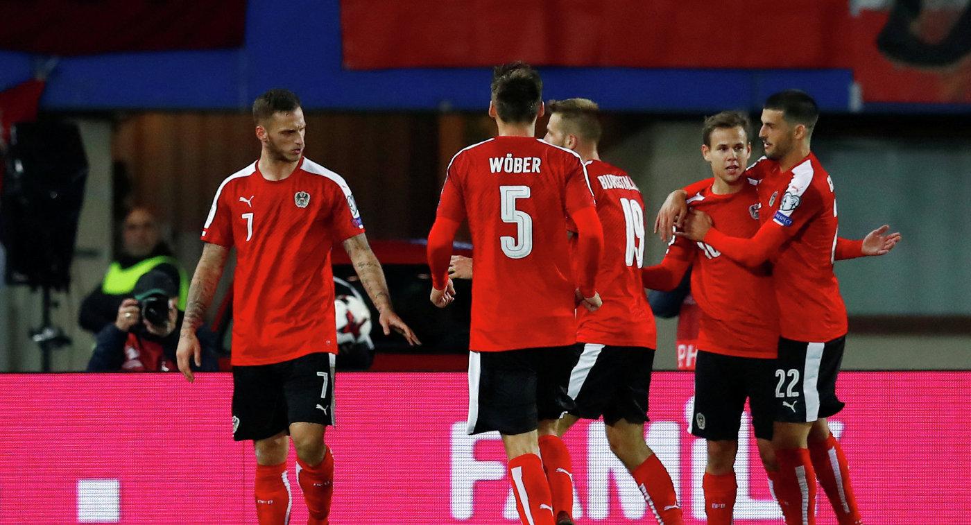 1126822849 Сербские футболисты уступили австрийцам, несумев преждевременно выйти в заключительную частьЧМ