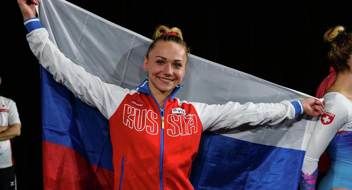 СборнаяРФ погимнастике стала 3-й  начемпионате мира вКанаде