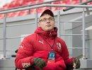 Болельщик сборной России Дмитрий Корчагин