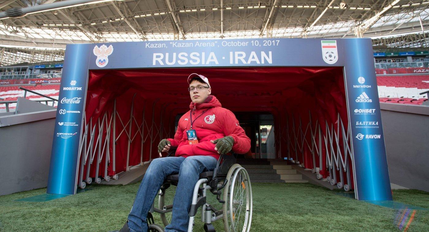 20-летний казанец сДЦП приглашен наработу в русский футбольный союз