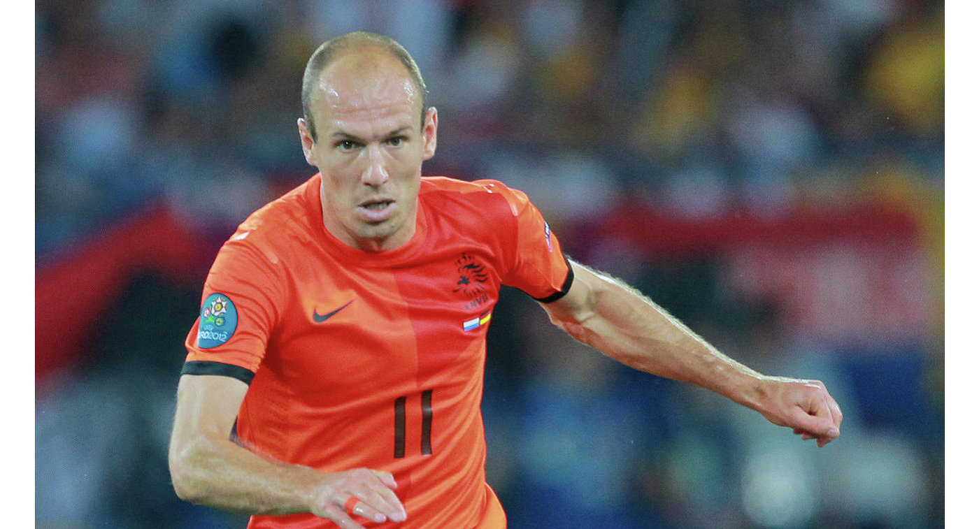 Роббен объявил озавершении карьеры всборной Нидерландов