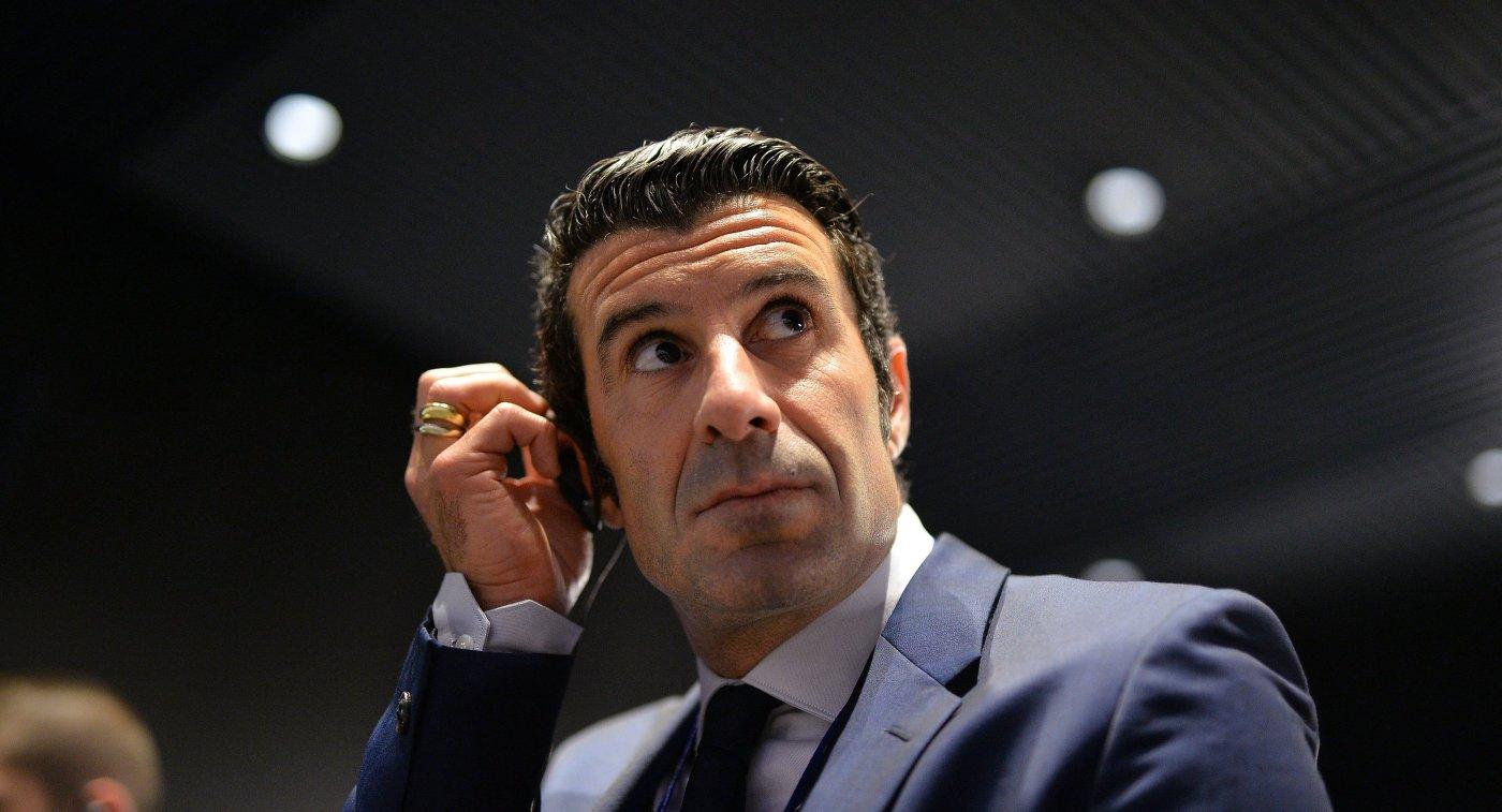 Фигу занял должность советника президента УЕФА