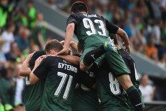 Футболисты молодежной команды Краснодара