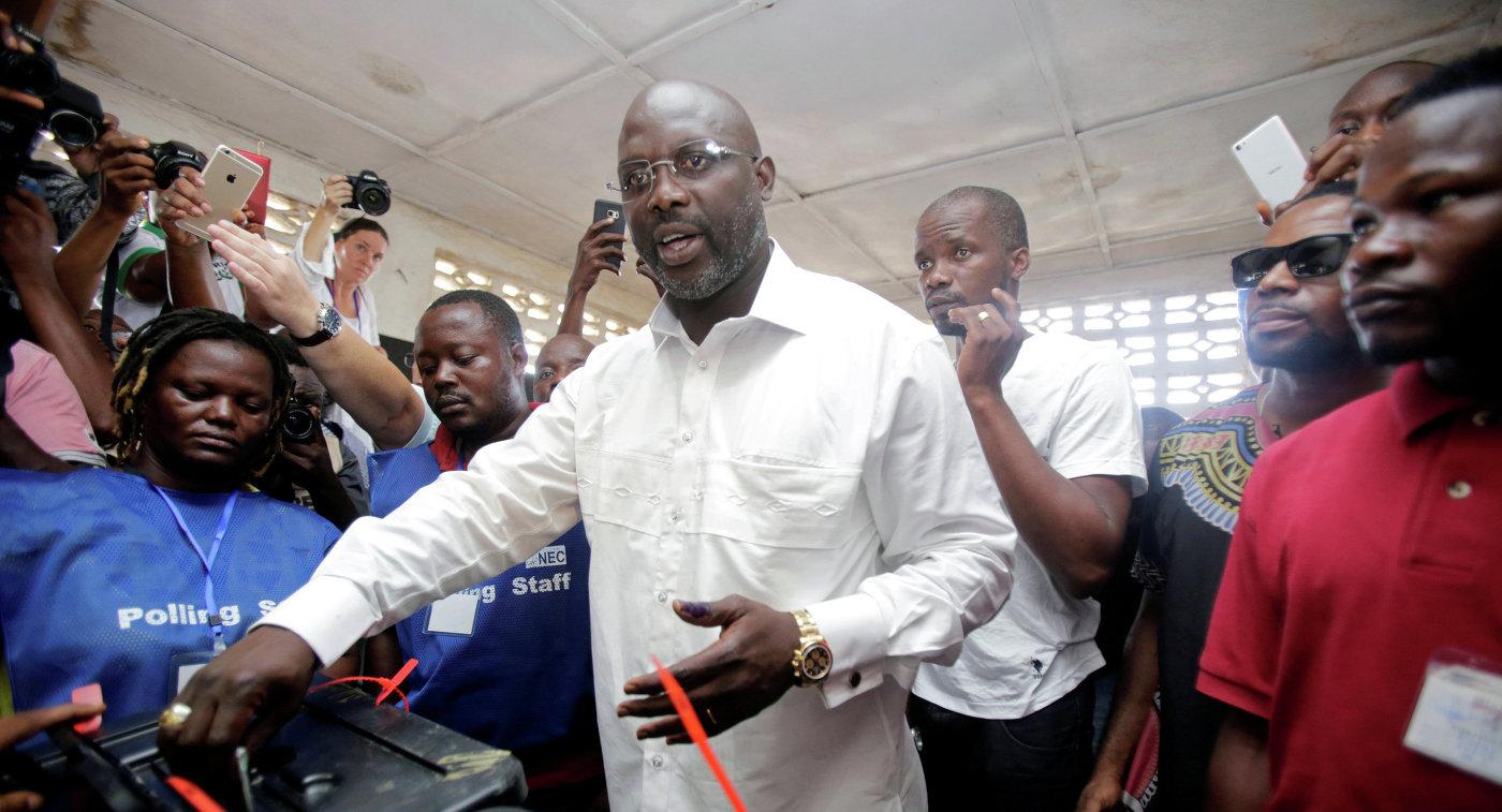 Владелец  «Золотого мяча» Джордж Веа стал президентом Либерии