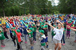 Летний региональный фестиваль ГТО среди учащихся Магаданской области в лагере «Северный Артек»