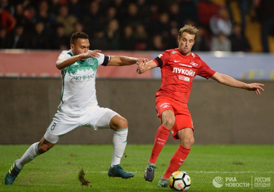 Футболисты «Зенита» потерпели первое поражение вчемпионате РФ