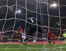 Игровой момент матча чемпионата Италии по футболу Рома - Наполи