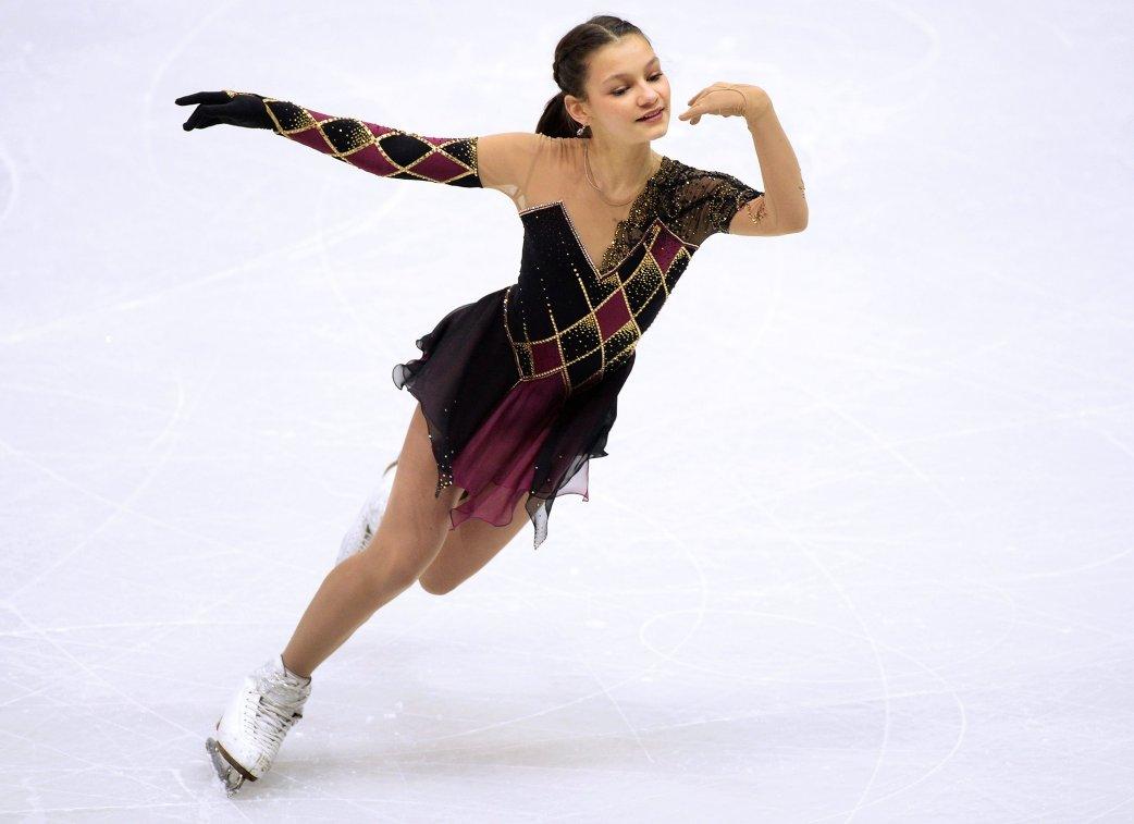 Тарасова иМорозов стали вторыми вкороткой программе нафинале Гран-при