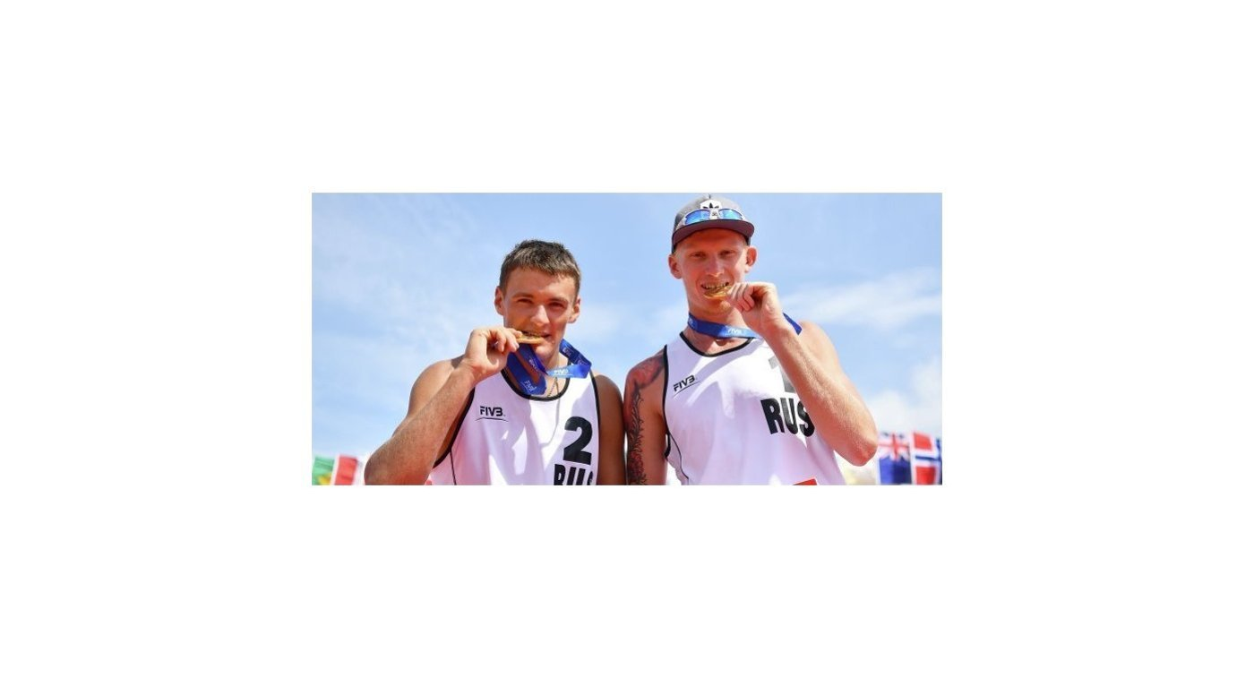 Россияне Максим Сиволап (справа) и Игорь Величко