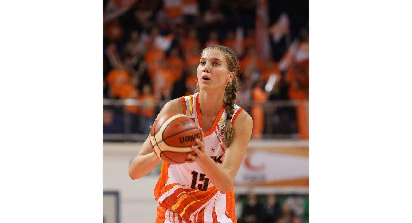 Баскетболистка УГМК Наталья Виеру