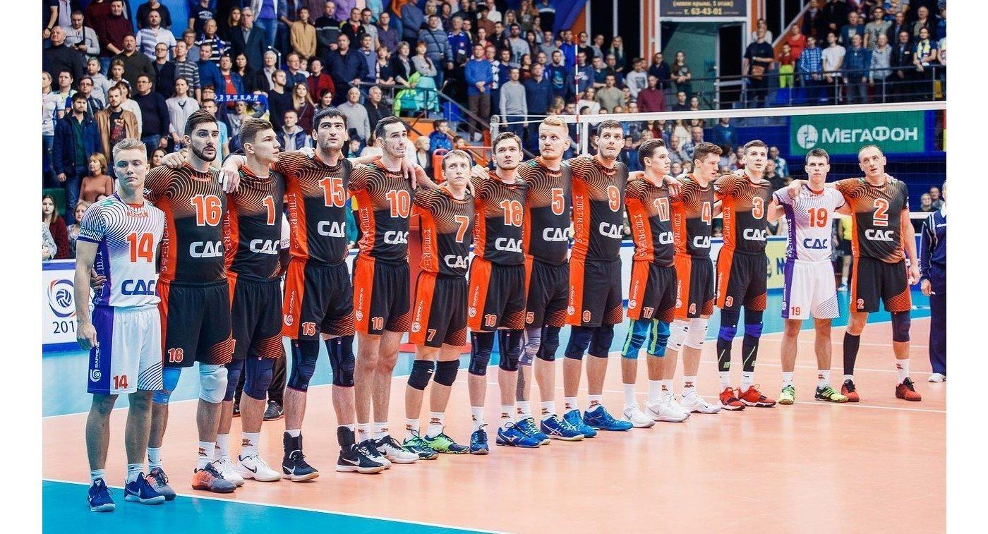 Волейболисты кемеровского Кузбасса