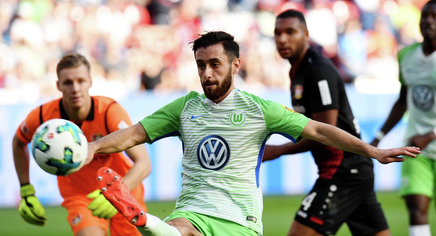 «Байер» и«Вольфсбург» разыграли ничью вЧемпионате Германии пофутболу
