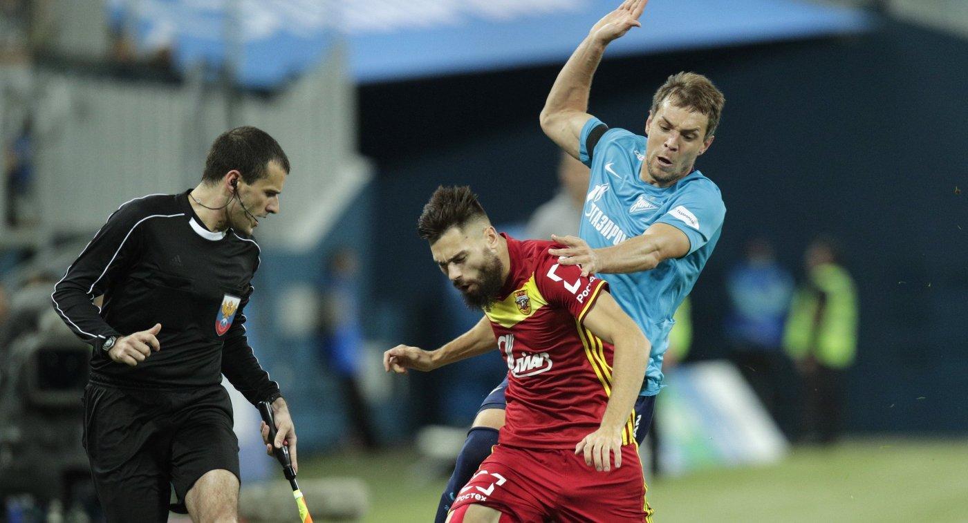 «Нужно доработать»: голкипер «Арсенала» Габулов оценил новый стадион «Санкт-Петербург»