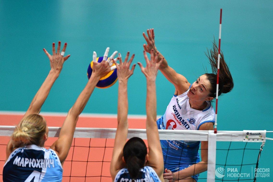 Волейболистки казанского «Динамо» несмогли завоевать Суперкубок Российской Федерации