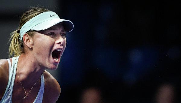 Россиянка Мария Шарапова завоевала 1-ый титул WTA за2,5 года