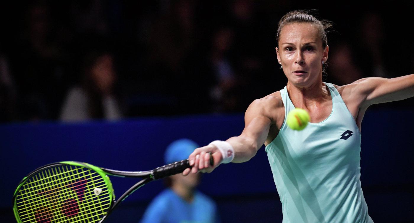 Рыбарикова победила Калинскую, и словачки сравняли счет в матче Fed Cup с россиянками