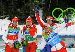 Светлана Слепцова, Анна Богалий-Титовец, Ольга Медведцева, Ольга Зайцева (слева направо)